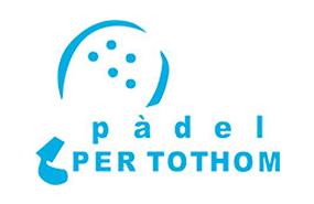 logotipo padel per thotom