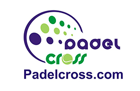 logotipo padel cross